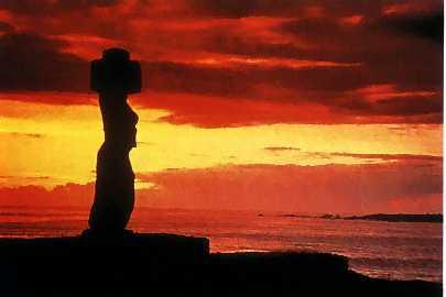Isla de Pascua en Chile Insular