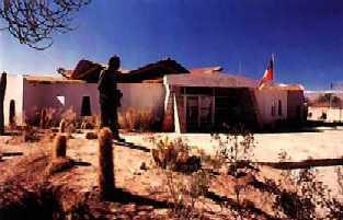 En Pleno desierto de atacama, el museo Padre Lepage